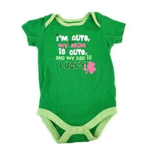 Unbranded girls St Patricks day one piece